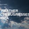 how weather impacts business